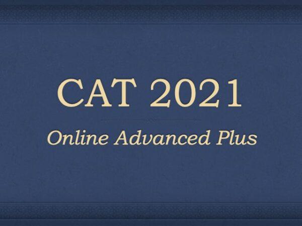 Online CAT Preparation 2021