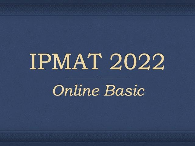 IPMAT 2022 Preparation