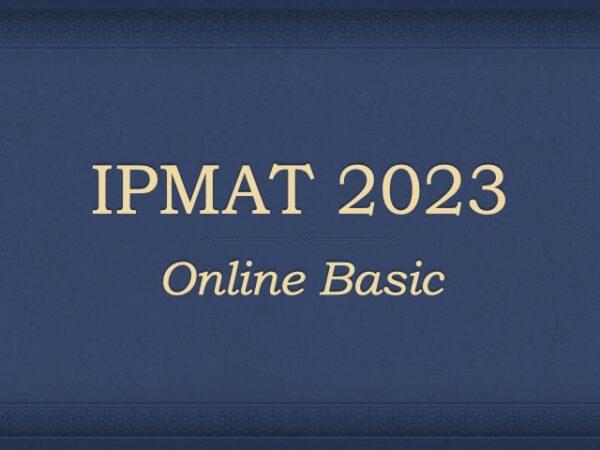IPMAT 2023 Preparation