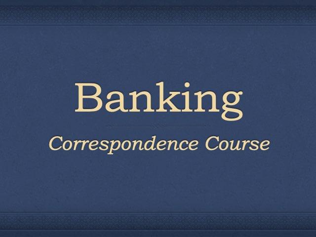 Banking Preparation