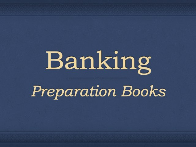 Banking Preparation Books